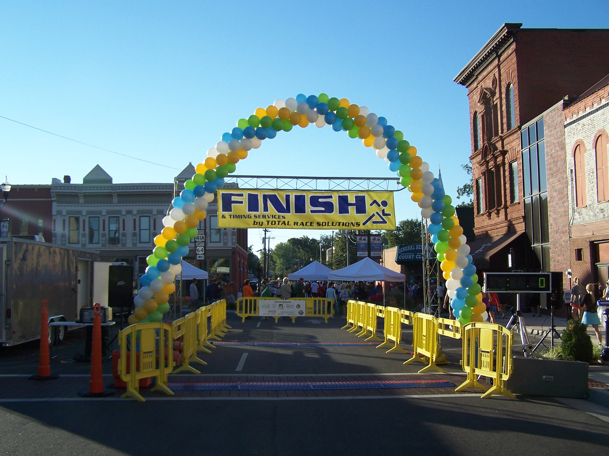Winchester's Southern Tennessee Plunge Marathon and Half