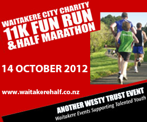 Waitakere Charity 11km Fun Run and Half Marathon