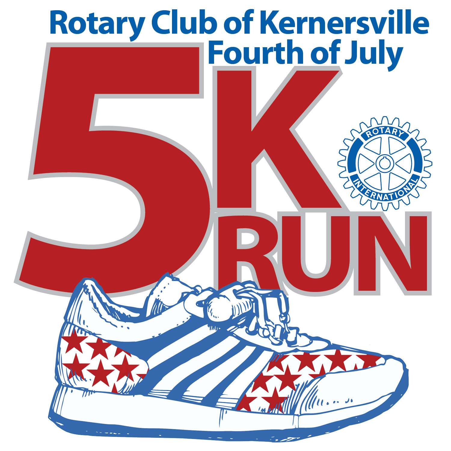 Rotary Club of Kernersville Fourth of July 5k