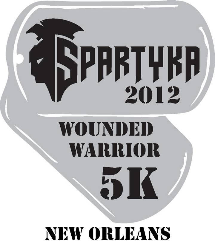 Spartyka Wounded Warrior 5K - New Orleans