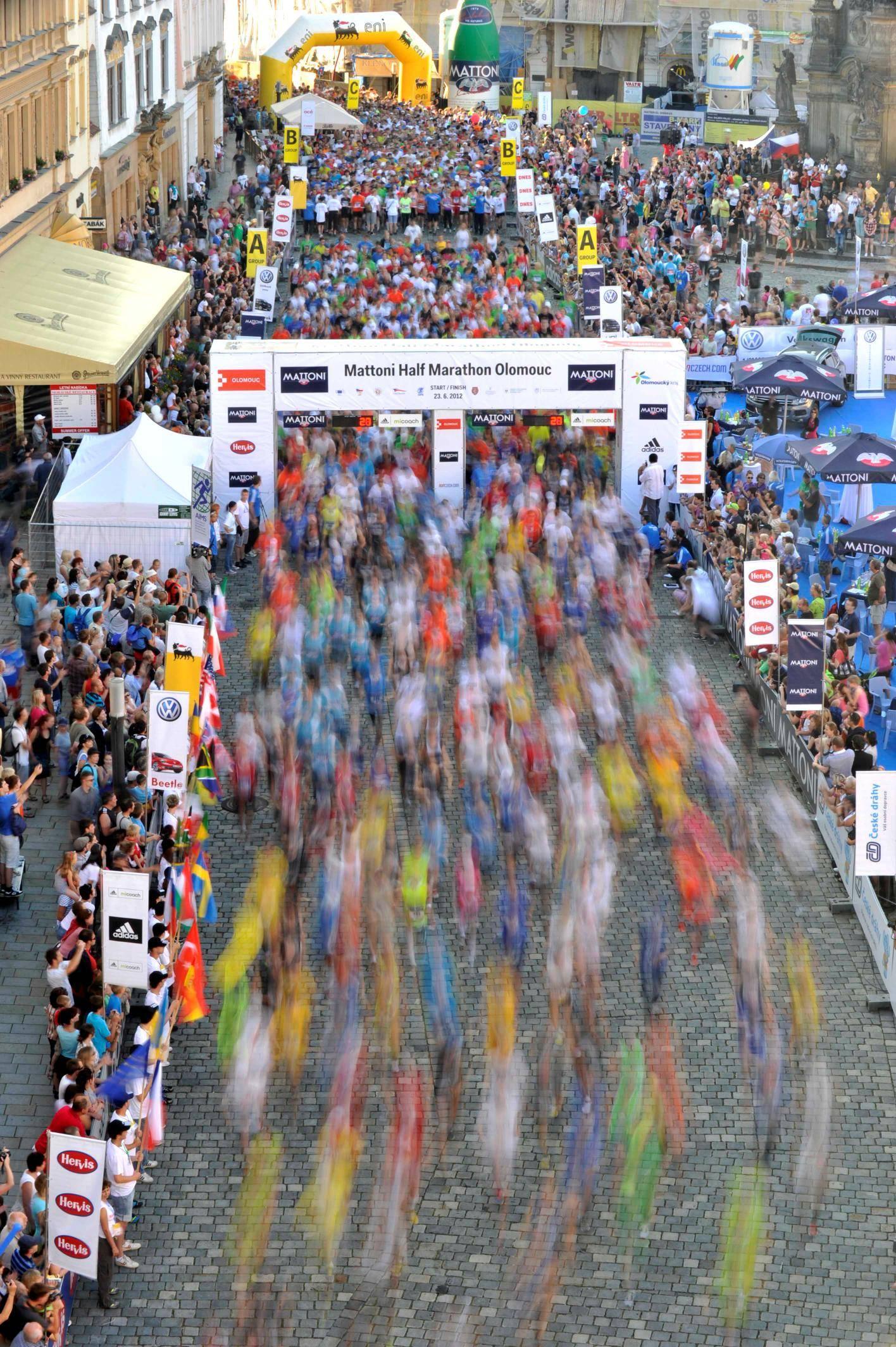 Olomouc Half Marathon 2013